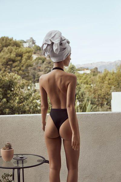 Emily Ratajkowski-One-Piece-Thong