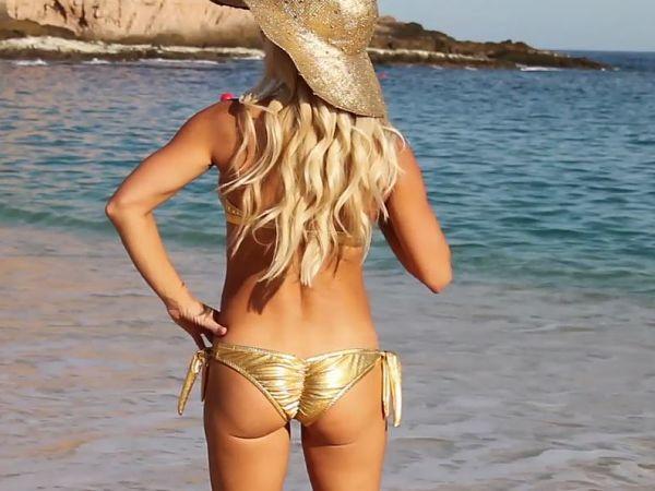 Metallic-Gold-Liquid-Metal-Bikini-