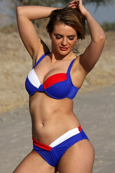 Red-White-Blue-Shaping-Bikini