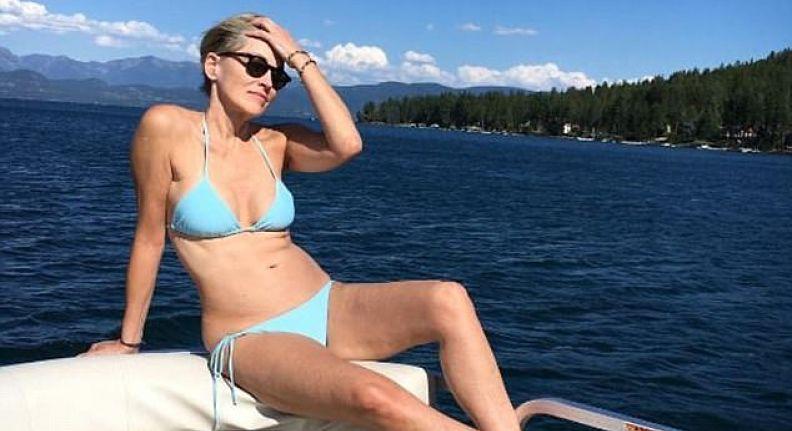 Sharon Stone-Bikini